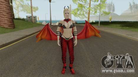Supergirl Fury Outfit for GTA San Andreas