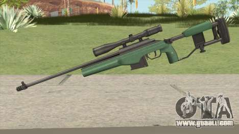 SAKO TRG-42 Sniper Rifle (Green) for GTA San Andreas