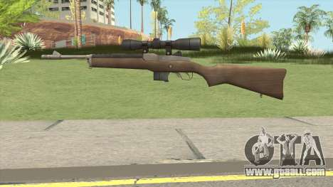 L4D1 Ruger Mini-14 Sniper for GTA San Andreas