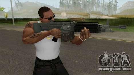 Combat MG (Default Mag) GTA V for GTA San Andreas