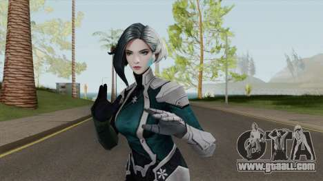 Marvel Future Fight - Luna Snow (Andromeda) for GTA San Andreas