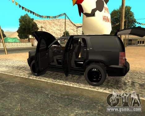 Chevrolet Tahoe for GTA San Andreas
