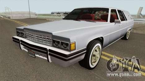 Cadillac Fleetwood Hearse (Romero Style) v1 1985 for GTA San Andreas