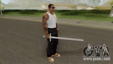 Sword V1 for GTA San Andreas