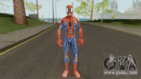 Spider-Man Unlimited - Spider-Man Battle Damage for GTA San Andreas