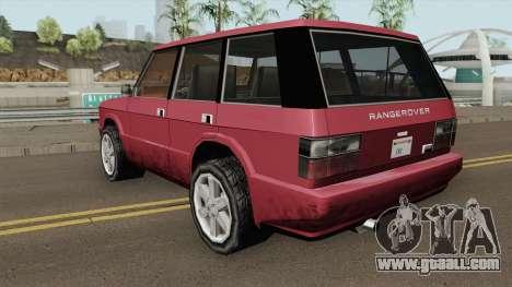 Land Rover Range Rover (Huntley Edit) SA Style for GTA San Andreas