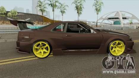 Nissan R34 Uras GT for GTA San Andreas