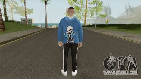 GTA Online Sans Outfit Skin for GTA San Andreas