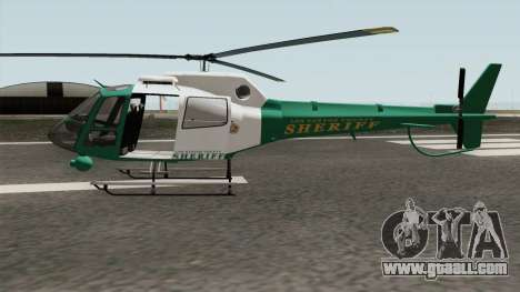 Los Santos County Sheriff Helicopter for GTA San Andreas