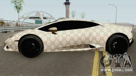 Lamborghini Huracan 2014 (Gucci Style) for GTA San Andreas