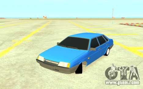 VAZ 21099 for GTA 4