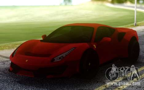 Ferrari 488 Pista V1 for GTA San Andreas