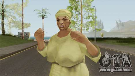 Auntie Poulet From VC for GTA San Andreas