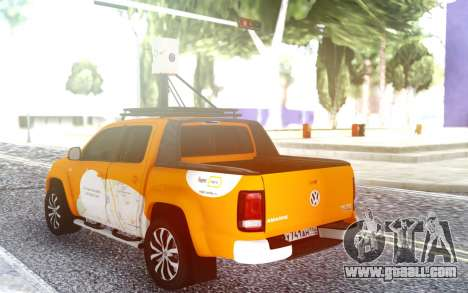 Volkswagen Amarok V6 Yandex.Card for GTA San Andreas