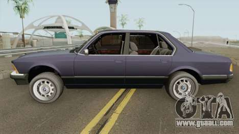 BMW 7 Series E23 for GTA San Andreas