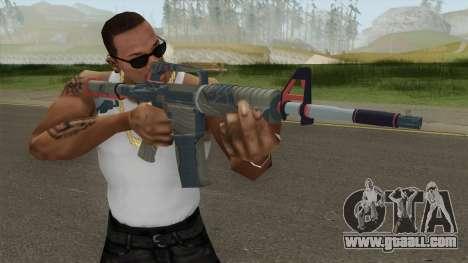 CS:GO M4A1 (Brifing Skin) for GTA San Andreas