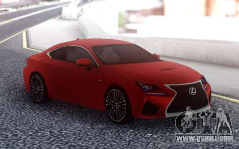 Lexus RC F for GTA San Andreas