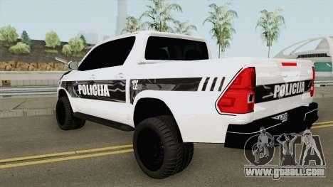Toyota Hilux POLICIJA BiH for GTA San Andreas