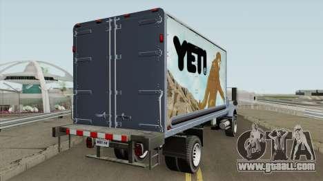 Vapid Yankee 2nd GTA V IVF for GTA San Andreas