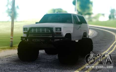 Ford Bronco for GTA San Andreas