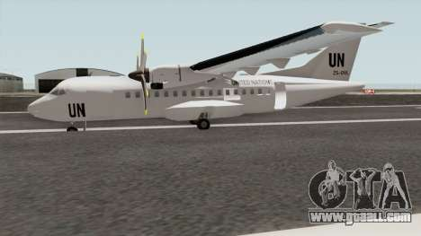 ATR 42-500 United Nations for GTA San Andreas