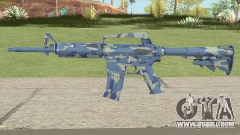 CS:GO M4A1 (Ocean Bravo Skin) for GTA San Andreas