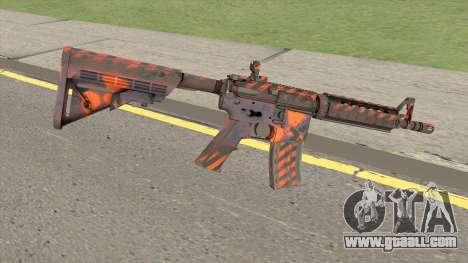 CS-GO M4A4 Radiation Hazard for GTA San Andreas