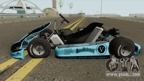 Shifter Kart 125CC for GTA San Andreas