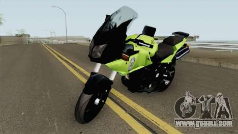 Suzuki V-Strom for GTA San Andreas