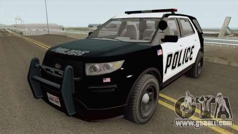 Vapid Police Cruiser Utility GTA V IVF for GTA San Andreas