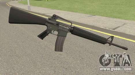 M16A2 Default Design (Ext Mag) for GTA San Andreas