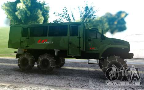 Ural Next Watch LPcars for GTA San Andreas