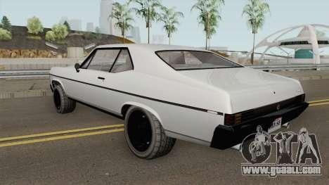 Declasse Vamos GTA V (Stock) for GTA San Andreas