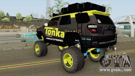Toyota 4Runner Tonka Truck for GTA San Andreas