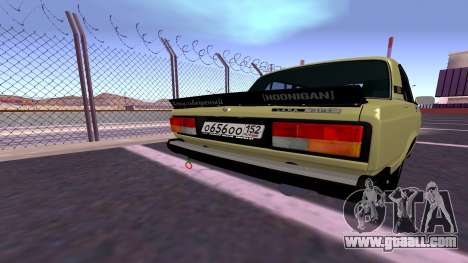 2107 Combat Classic for GTA San Andreas