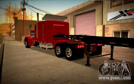 Peterbilt 359 SA Style for GTA San Andreas