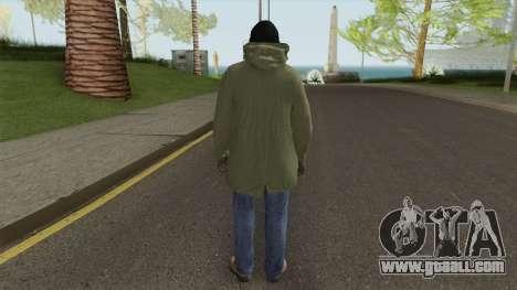 Skin Random 154 (Winter Outfit) for GTA San Andreas