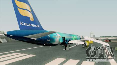 Boeing 757-200 RB211 Icelandair for GTA San Andreas