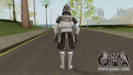 Star Wars Commander Wolffe for GTA San Andreas