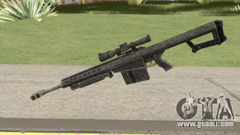 Barrett M107 for GTA San Andreas