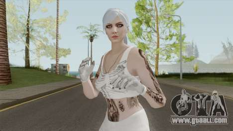 Skin Butty Dancer GTA V for GTA San Andreas