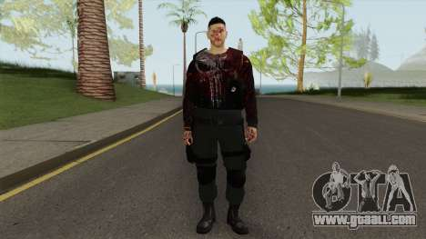 The Punisher V3 (Blood Retextured V2) for GTA San Andreas