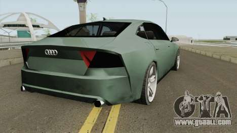 Audi A7 (SA Style) for GTA San Andreas