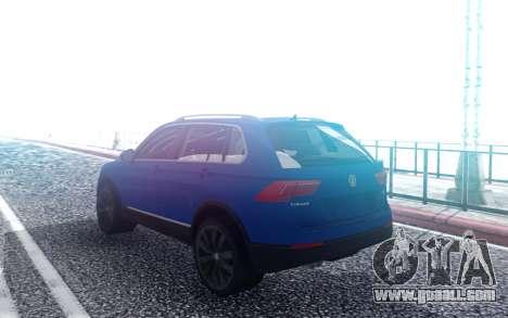 Wolksvagen Tiguan 2018 for GTA San Andreas