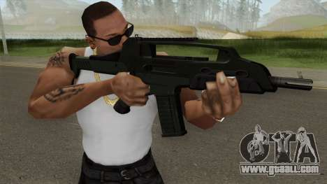 XM8 Compact V2 Green for GTA San Andreas