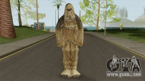 New Bigfoot Skin for GTA San Andreas