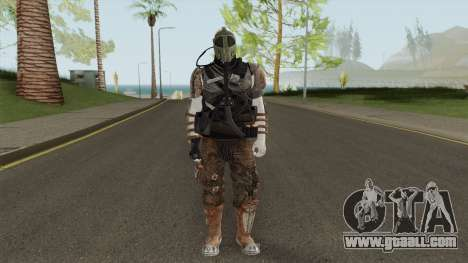 Zombie Skin With Arena War Outfit for GTA San Andreas