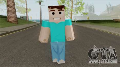 Steve HD for GTA San Andreas