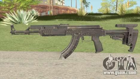 Tactical AK47 for GTA San Andreas