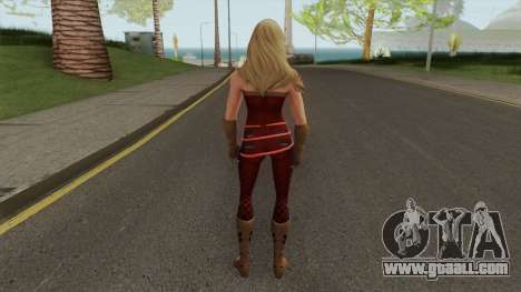 Wondergirl Legendary From DC Legends for GTA San Andreas